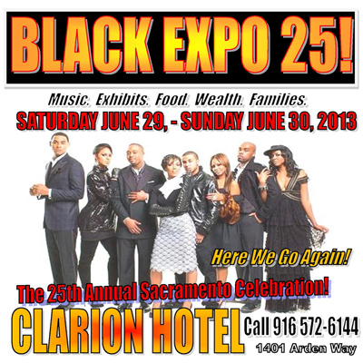 Black Expo in Sacramento