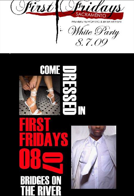 "First Fridays of Sacramento ""WHITE PARTY"""