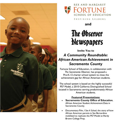 Community Roundtable: African American Achievement in Sacramento