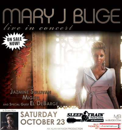 Mary J Blige live in concert