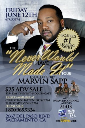 Marvin Sapp LIVE in Concert