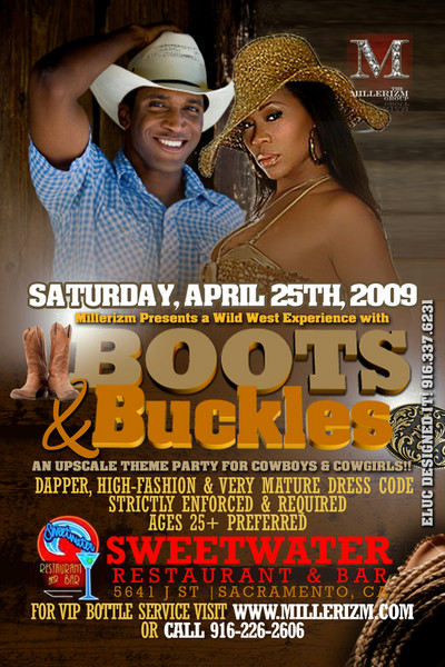 """The Millerizm Group presents - """"Boots & Buckles"""" party"""