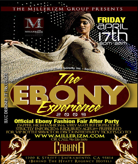 'Millerizm Group presents the official Ebony Fashion Fair After Party,