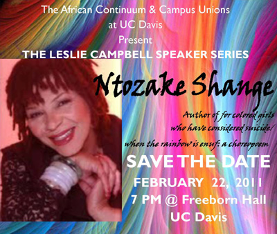 Book Discussion at UC Davis