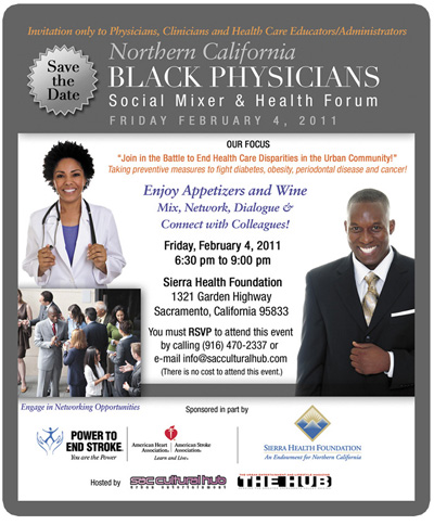 Black Physicians Social Networking Mixer and Health Forum