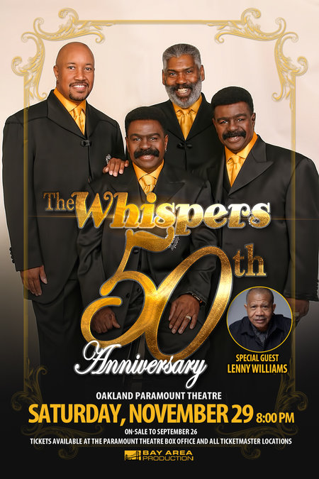 The Whispers 50th Anniversary Show