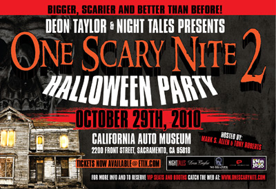 One Scary Night Halloween Party