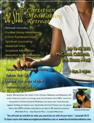 2nd Annual Be Still Christian Meditation Retreat