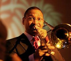 Trombonist Delfeyo Marsalis