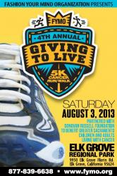 4th Annual Giving to Live 5K Cancer Run
