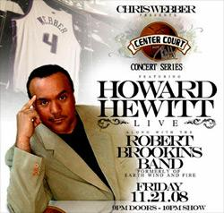 Howard Hewitt at Center Court in Natomas