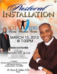 Pastoral Installation presented by Next Level Living Christian Center