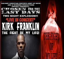 Kirk Franklin in Sacramento
