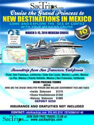 Come and Explore the Sea of Cortez with your Mexican Cruise