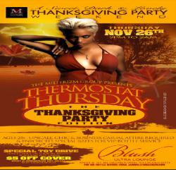 Thermostat Thursday Thanksgiving Party