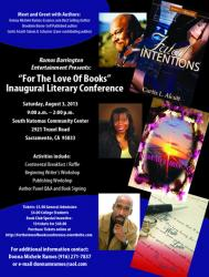 For the Love of Books Inaugural Literary Conference