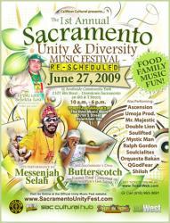 Sacramento Unity & Diversity Music Festival