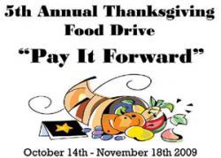 5th Annual Thanksgiving Food Drive