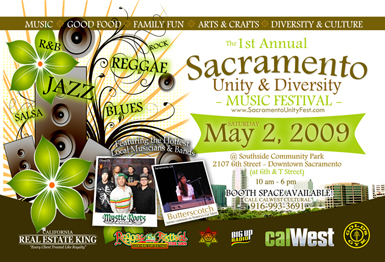 Sacramento Unity and Diversity Music Festival