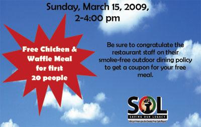 FREE Chicken & Waffles