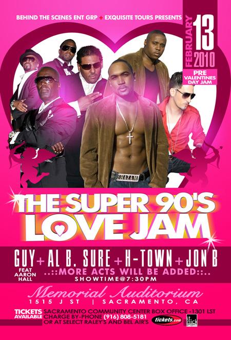Super 90's Love Jam