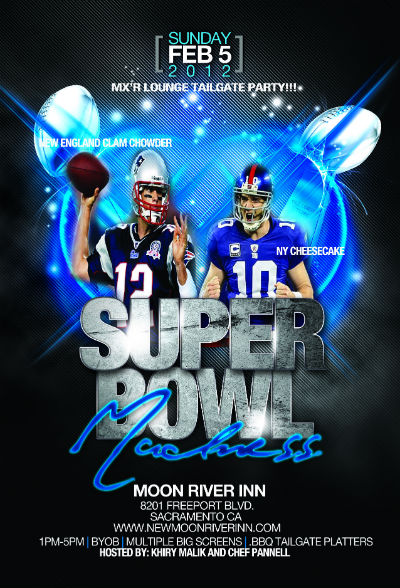 Super Bowl Madness at New Moon River Inn