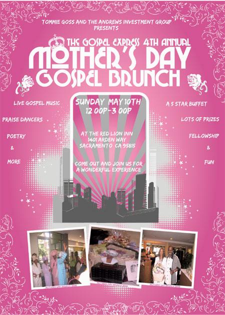 The Gospel Express 4th Annual Mother's Day Gospel Brunch