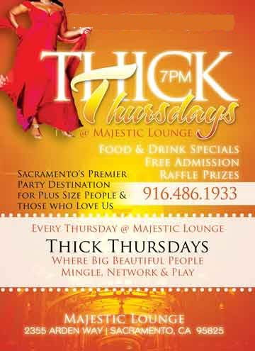 THICK THURSDAYS at Majestic Lounge