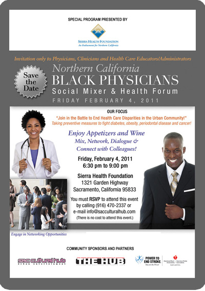 Black Physician's Social Networking Mixer and Health Forum