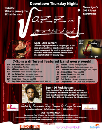 """""""Jazz on J"""" - EVERY THURSDAY"""