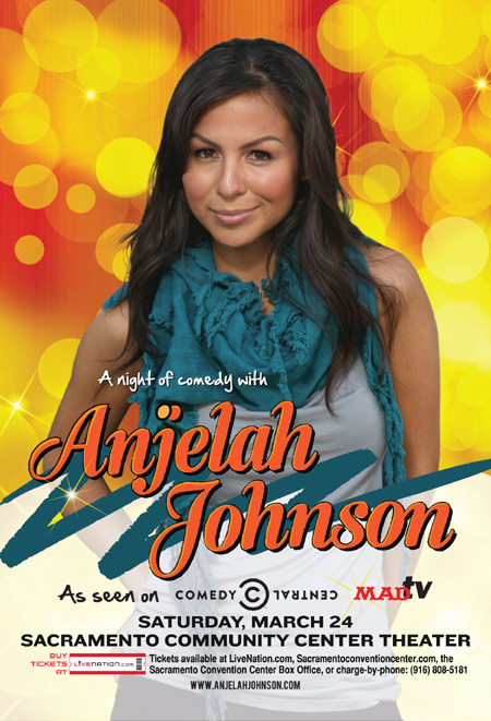 Night of Comedy with Anjelah Johnson