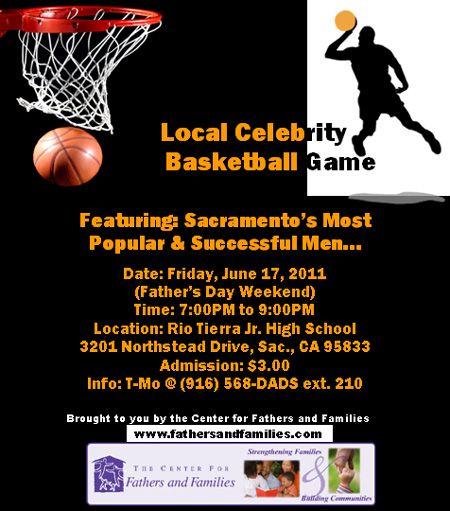 Father's Day Local Celebrity Basketball Game