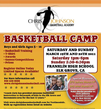 Chris Johnson Basketball Camp