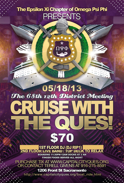 Cruise with the Ques!