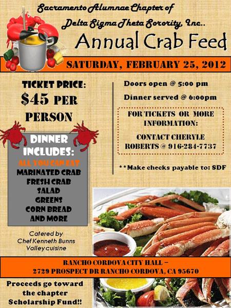 2012 DELTA Crab Feed