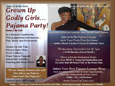 Grown Up Godly Girls Pajama Party