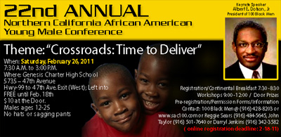 African American Young Male Conference