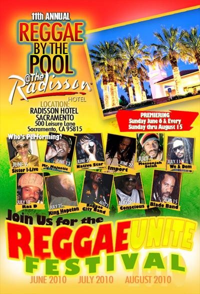 Reggae by the Pool