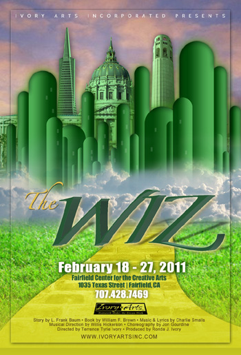 """THE WIZ"" theatre stage play"