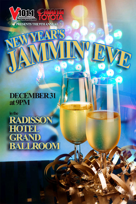 V101.1's New Year's Jammin' Eve Party Celebration