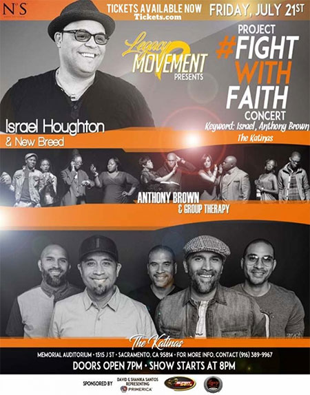 Fight With Faith Concert