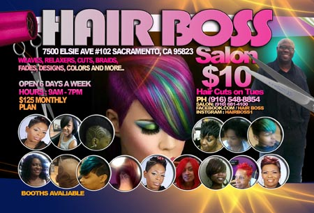 HAIR BOSS in South Sacramento