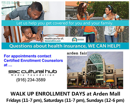 Walk Up Enrollment Days at Arden Fair Mall in Sacramento