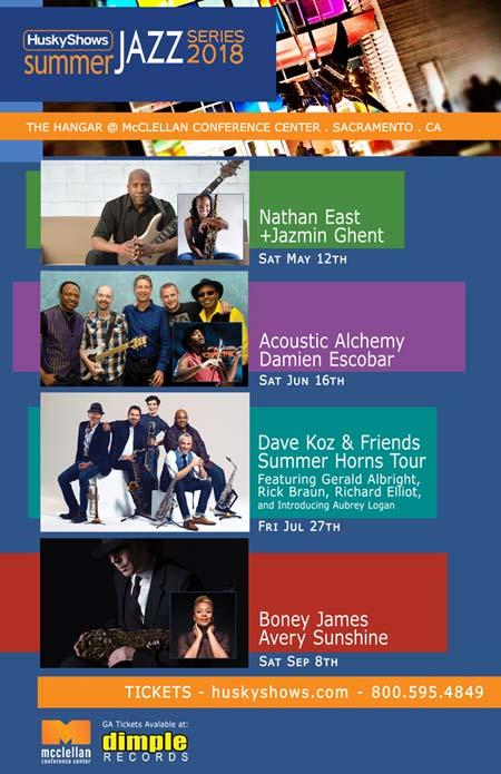 Husky Shows Summer Jazz Series