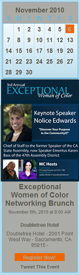 Register Now - Exceptional Women of Color Networking Brunch