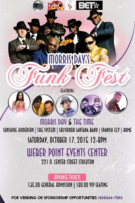 Morris Day's Funk Fest