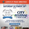 25th Anniversary City Festival, Center of Praise Ministries