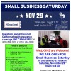 Shop for affordable health insurance Small Business Saturday November 29th