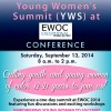 Young Women's Summit (YWS) at EWOC 2014