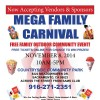 Mega Family Carnival - Free Family Outdoor Community Event